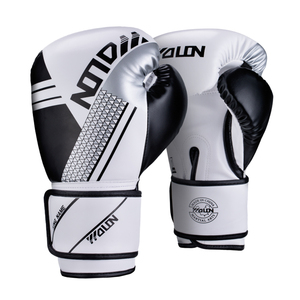 10oz pu leather glove boxing gloves kids training gloves
