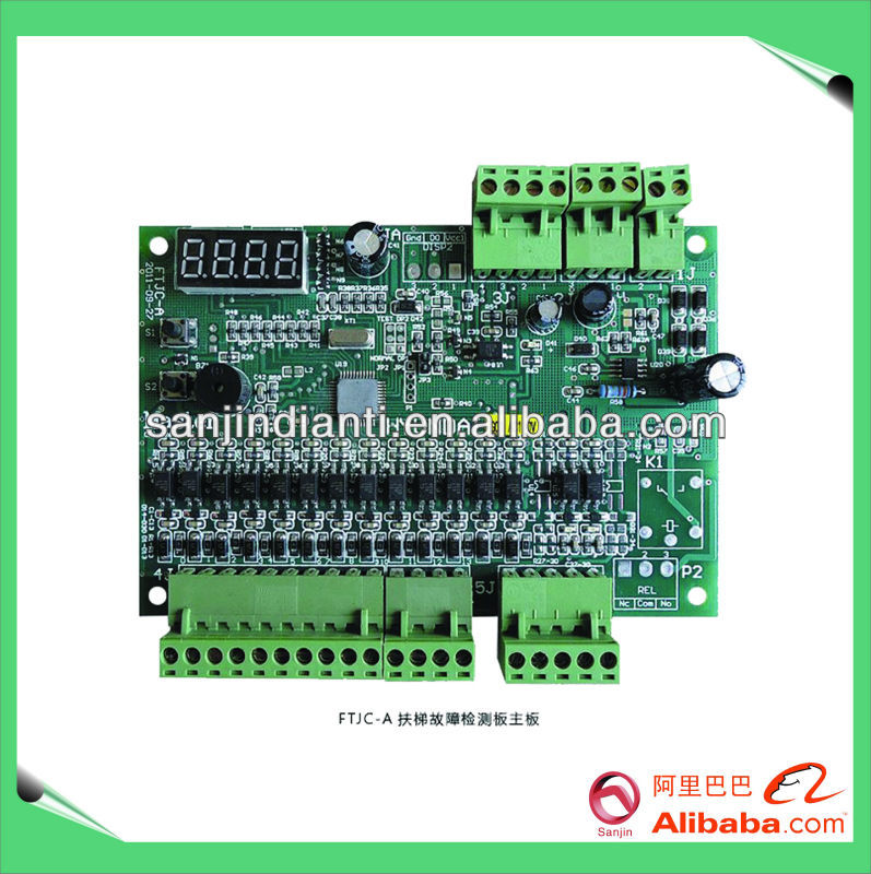 Hyundai escalator fault detection panel FTJC-A, elevator control mainboard