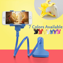 Wholesale 360 Rotating Flexible lazy bed desktop tablet car Long Arm holder stand selfie mount bracket for iPhone