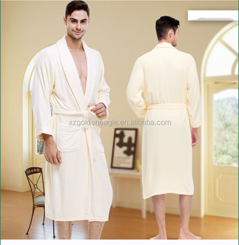 7e0d34d3d1 100% Organic Bamboo Terry Bathrobe Bamboo Bath Robe For Man - Buy ...