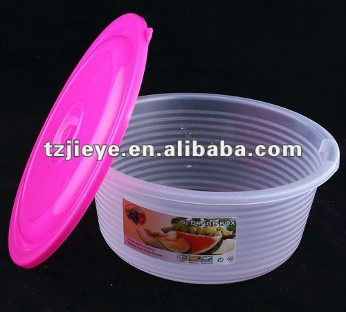 Kitchen Round Plastic Food Storage Container With Lid3000ml Buy