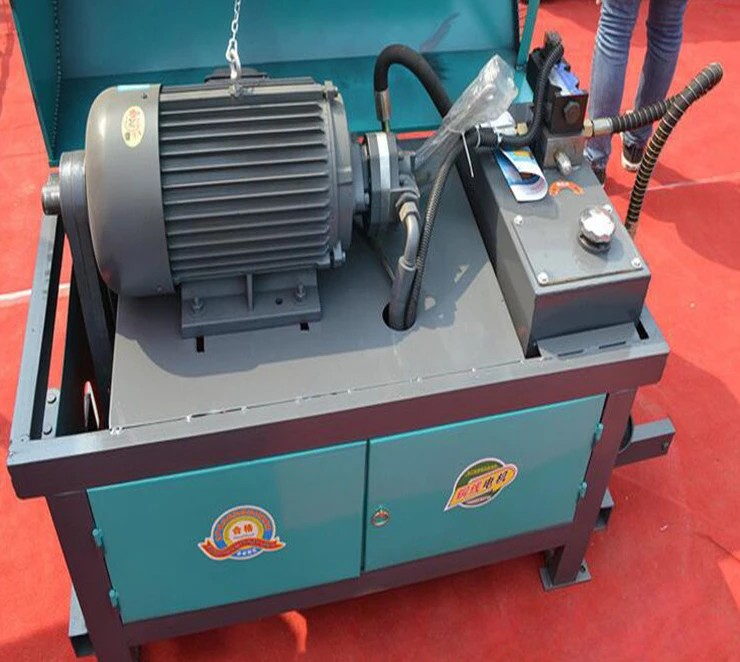 3kw 4kw expensive steel bar cutting straightening machine with good quality
