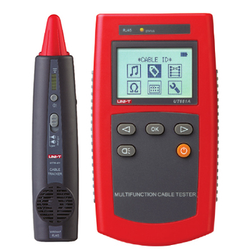 Portable Network Tester Uni-t Ut681a Multi-function Cable Finder Set With  Loop Resistance Test And Wire Sequence Scanning - Buy Ut681a,Network Cable