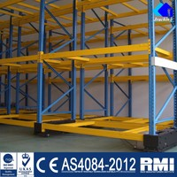 Jracking Easily Moved Warehouse Electric Mobile Racking