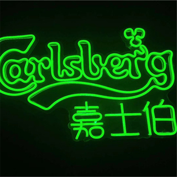 Liangtong electronic lighted letters custom acrylic neon led signs