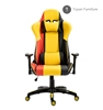6045YL-China gamer ergonomic office chair high back PU leather back custom gaming chair executive racing design office chair