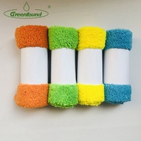 Wholesale All Purpose Microfiber Home Cleaning Cloth Edgeless Wiping Rags Cleaning Wipe