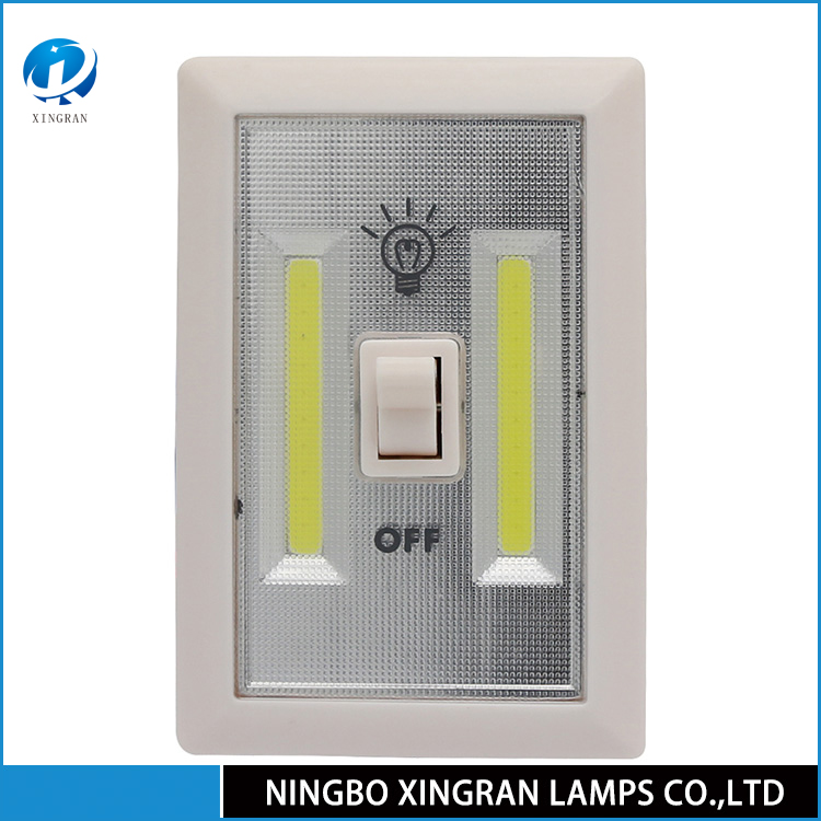 Professional Cordless led COB switch light with dry battery