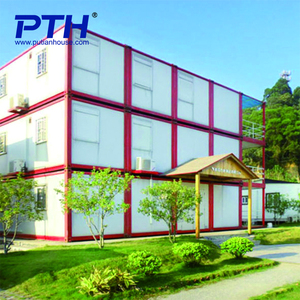 modern prefabricated house prefabricated hotel container luxury prefab house