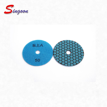 Flexible Resin Wet Granite Diamond Electroplated Polishing Pads For Thermal Spray (Glass/tile/hard metals/concrete,stones)