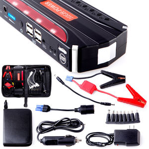 24000mah 12v/24v Diesel Truck Booster Battery Jump Starter 12v 24 v Litium Ion Battery