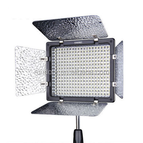 Yongnuo YN-300 III 300 LED beads LED Video Light Lamp Camera for Canon Nikon +Battery and Color Temperature 3200K-5500K
