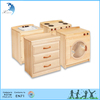 Wholesale good quality cubing montessori furniture solid wood kitchen cabinet
