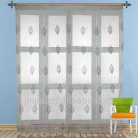 2016 New Arrival Latest design living room Elegant half window curtains