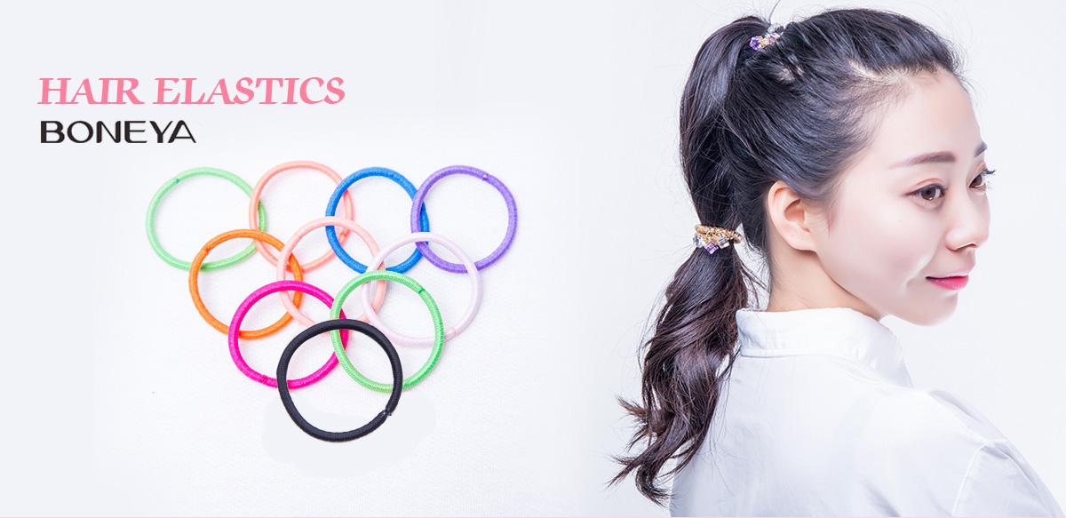 Competent 2016 New Big Pearls Fabric Flower Black Elastic Ponytail Holders Korean Style Hair Accessories Girl Women Rubberbands Tie Gum Apparel Accessories