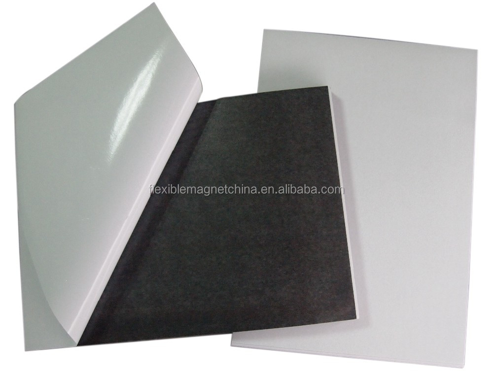 A4 Flexible Adhesive magnetic Neodymium magnet sheet