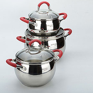New design stainless steel apple shape amc cookware price