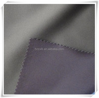 Polyester knitted 2 way stretch softshell fabric