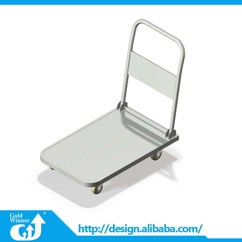 China factory supply utility portable tool hand trolley for supermarket