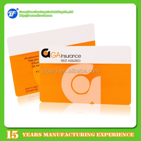 High quality PVC Credit card size MIFARE(R) Classic 1KB 4/4 printing card