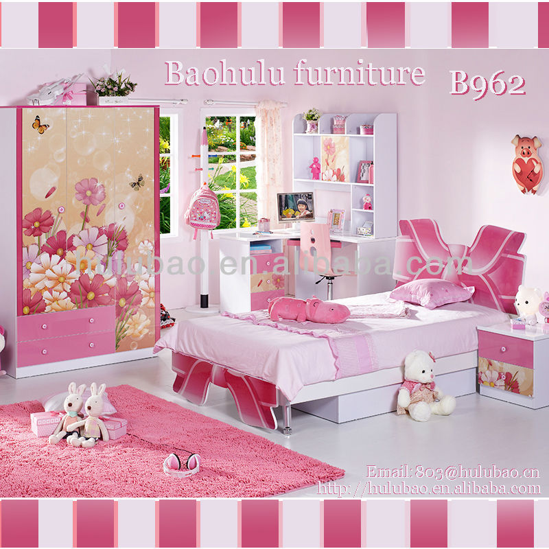 Most Promotional Very Cheap Princess Pink Bedroom