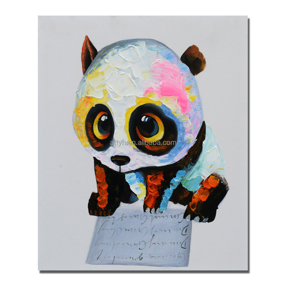 New arrival handpainted animal painting artist