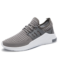 Latest Design Brand Footwear Mens Running Mesh Sports Casual Shoes