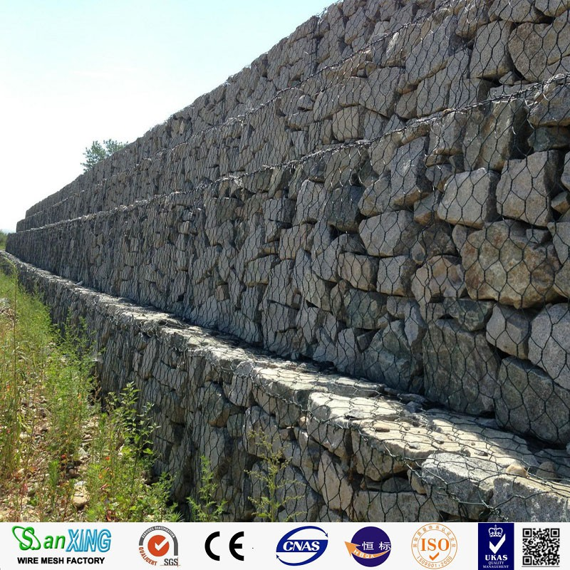 wholesale gabion box/decorative wire mesh boxes