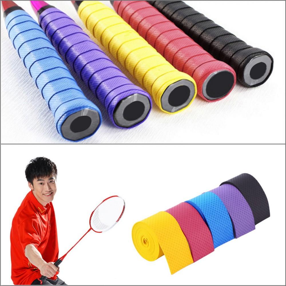 60 PEZZI PRESA //Overgrip Per Tennis Volano Badminton Squash Nastro-racchetta