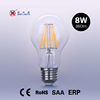 A19 led filament bulb 8w led bulb decorated light e26 e27 base