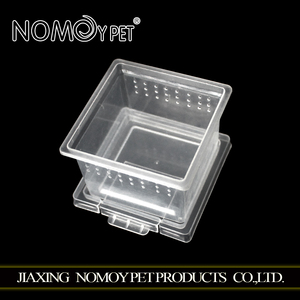NOMOY PET Ensure quality plastic raw material for small animal and reptIle food and water box