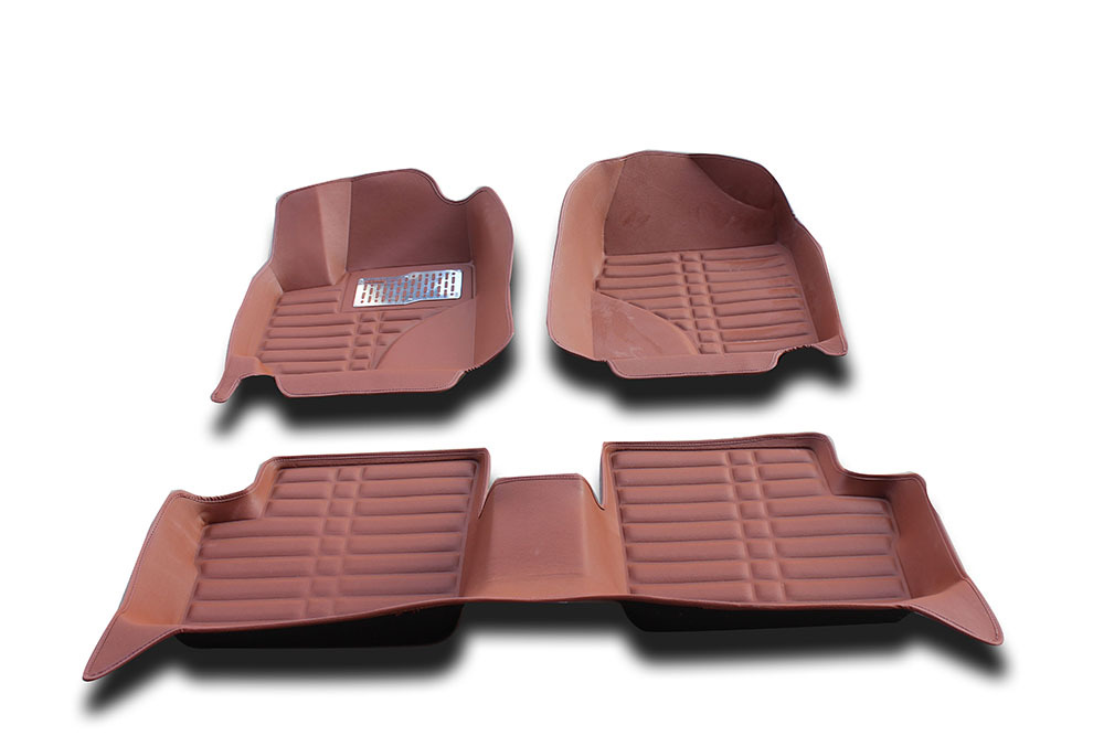 Japan design high quality Black Grey Brown Beige XPE+Leather Anti-silp car floor mats for Toyota corolla 2004-2015 car mats