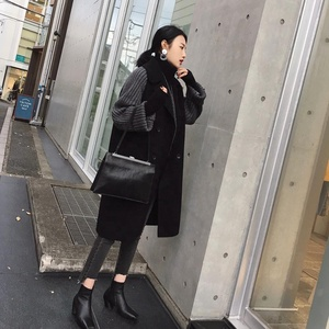 ASM ANNA Ladies Female Women Winter Long Coat Woman Hot Sale High Quality Custom Made Hand Wool Puffer Coat Woman