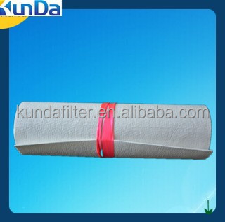 100 micron polypropylene micron rated liquid filter felt