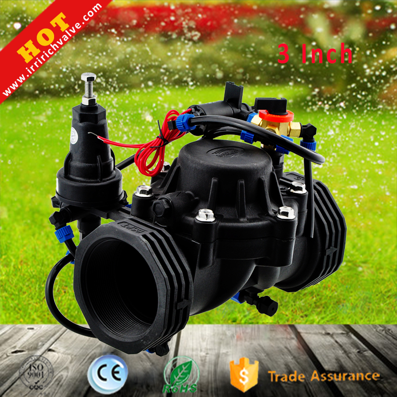 3 Inch Agricultural Irrigation Valve Electrically Controlled Water <strong>System</strong>