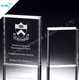 China customized award crystal book trophy for souvenirs