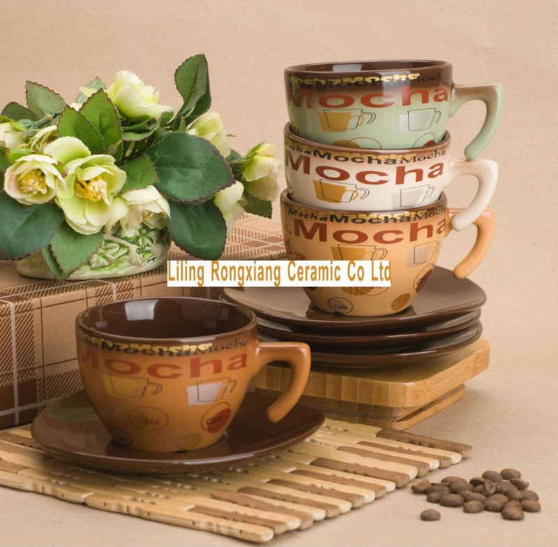 Coffee and tea cup sets