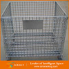 Wholesale Wire Mesh Pallet Storage Stackable Steel Security Lid Cages