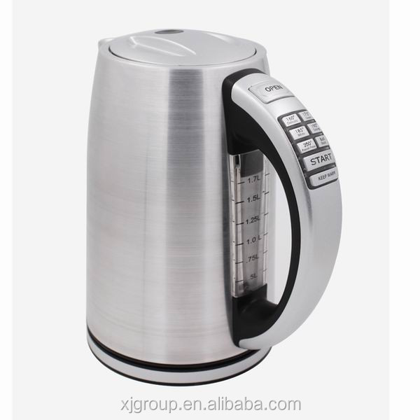 XJ-12830 Stainless steel cordless electric tea kettle