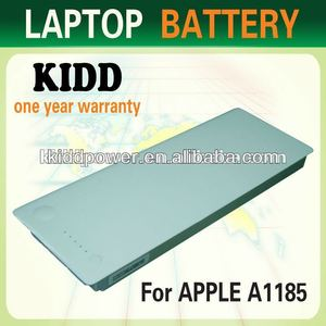 Hotest replacement battery with white color for Apple Macbook 13 a1185 a 1185,laptop battery for APPLE
