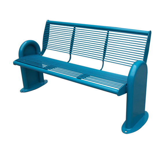 Outdoor garden bench stainless steel cast iron bench frame