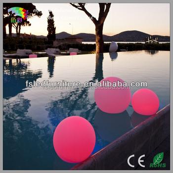 Schwimmbecken Führte Balllicht Dekoratives Geführtes Balllicht