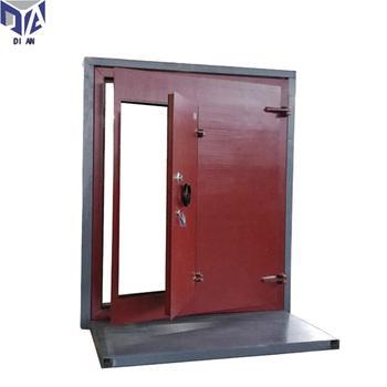 Cold Rolled Steel Sheets Safety Steel Security Blast Proof Blast Resistant  Door - Buy Cold Rolled Steel Safety Blast Resistant Door,Steel Security