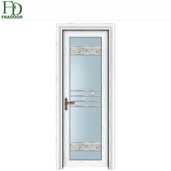Aluminum Bathroom Used White Frosted Gl Interior Doors