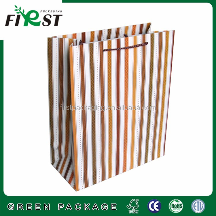 Custom Printed Luxury Retail Paper Shopping Bag