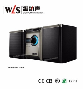 WLS 2.0CH Micro Home Theater Sound System PM2 with USB Blue tooth Function