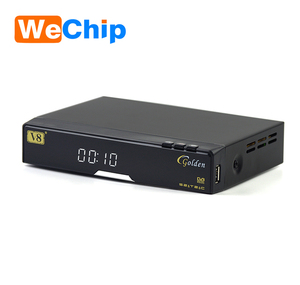 Best Price Patch Satellite Receiver dvb-s2+t2+DVB-C Hd Tv Box Support Iptv  Youtube table Openbox V8 Golden