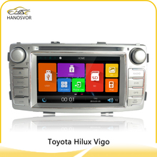 high quality for 2012 toyota hilux car dvd radio support cd/dvd play