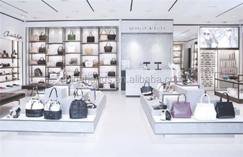 High End Custom Make Handbag Retail Modern Display Design