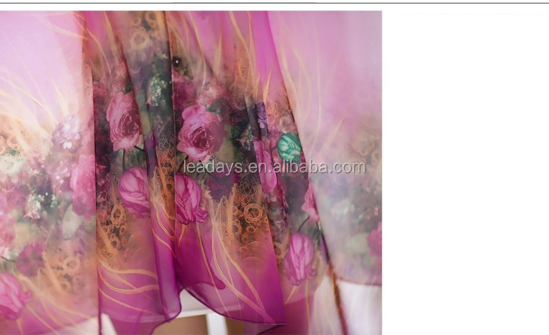 best sell kaftan design for beach and swimming chiffon scarf wholesale